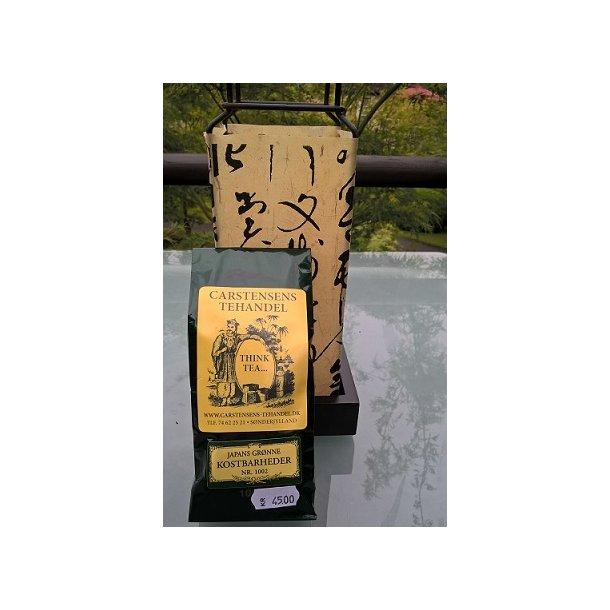 Japans grønne te - kostbarheder