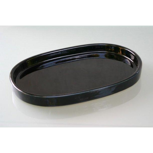 Ikebanaskål, oval