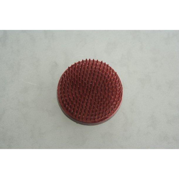 Fakir cirkulær rød, diameter 6 cm