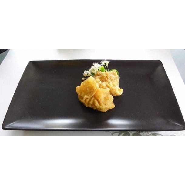 Sort mat Sushi tallerken - rektangel