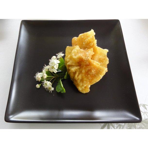 Sort mat firkantet Sushi tallerken 22x22cm