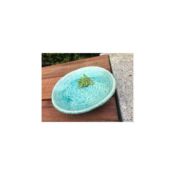 tallerken lille i turkis